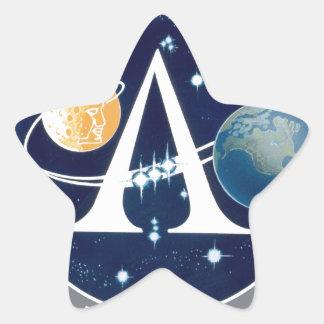 Apollo Program Logo Star Sticker