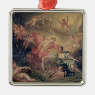 Apollo Revealing his Divinity Metal Ornament