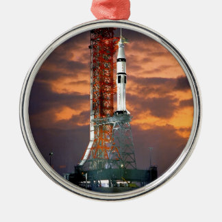 Apollo-Soyuz Launch Vehicle Metal Ornament