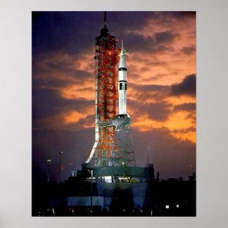 Apollo-Soyuz Launch Vehicle Poster