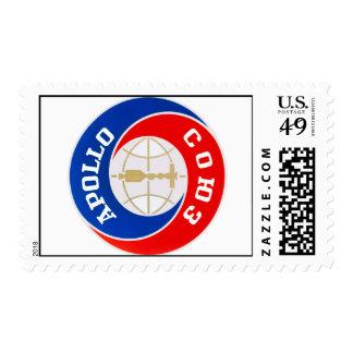 Apollo-Soyuz Mission Logo Postage Stamp