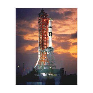 Apollo-Soyuz Test Project Stretched Canvas Print