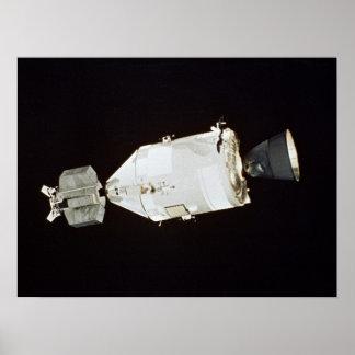 Apollo Spacecraft (Apollo-Soyuz Test Project) Poster
