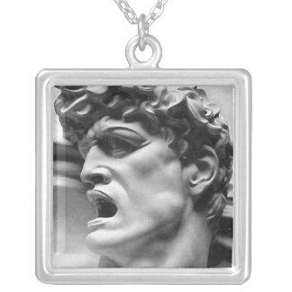 Apollo Square Silver Necklace