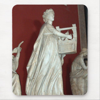 Apollo Statue in the Vatican Museum Mouse Pad