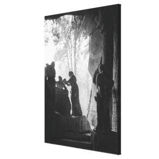 Apollo Tended by Nymphs in the bosquet of Baths Gallery Wrap Canvas