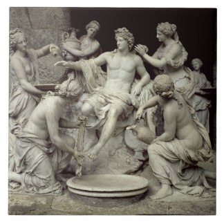Apollo Tended by the Nymphs, intended for the Grot Ceramic Tile