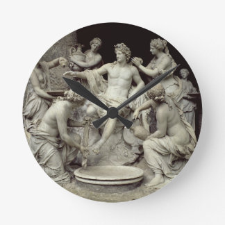 Apollo Tended by the Nymphs intended for the Grot Round Wallclocks