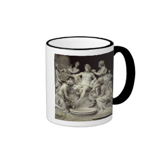 Apollo Tended by the Nymphs, intended for the Grot Ringer Coffee Mug