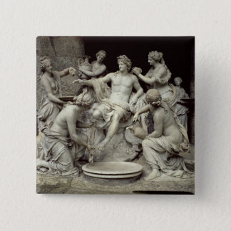 Apollo Tended by the Nymphs, intended for the Grot Pinback Button