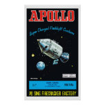 Apollo (Vintage Chinese Firecracker) Print