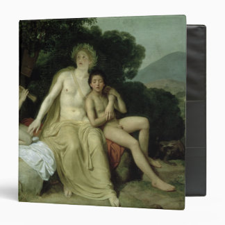 Apollo with Hyacinthus and Cyparissus 3 Ring Binders