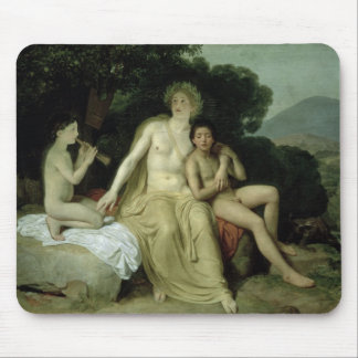 Apollo with Hyacinthus and Cyparissus Mouse Pad
