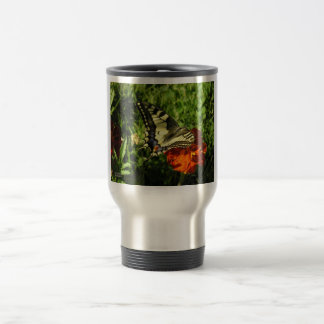 Apollon  Butterfly! 15 Oz Stainless Steel Travel Mug