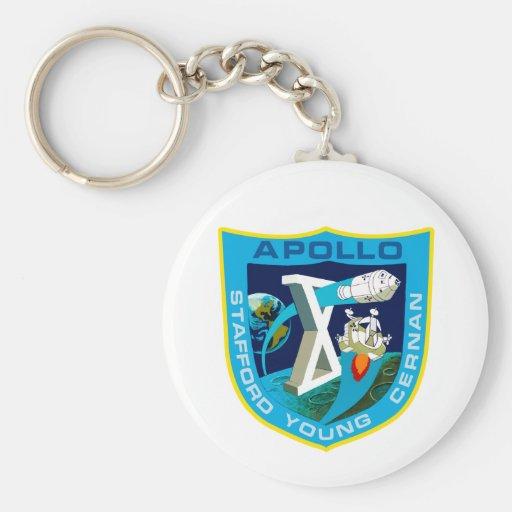 Apolo 10: A la luna Llavero Personalizado