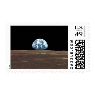 APOLO 11 EARTHRISE (Sistema Solar de la luna de la Estampillas