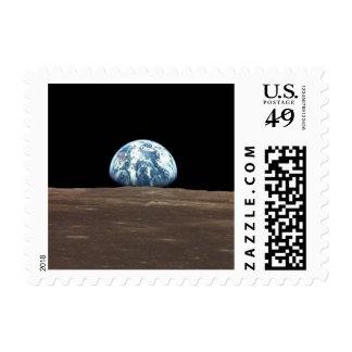 APOLO 11 EARTHRISE (Sistema Solar de la luna de la Sello