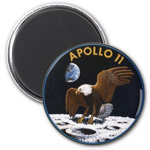 Apolo 11 iman de frigorífico
