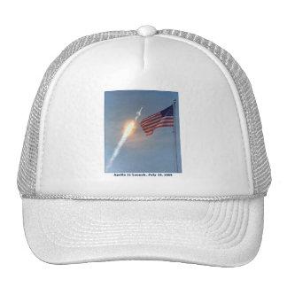 Apolo 11 lanzamiento 16 de julio de 1969 gorras
