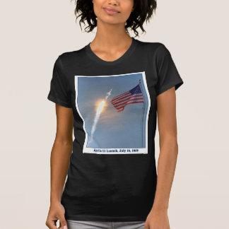 Apolo 11 lanzamiento 16 de julio de 1969 camisetas