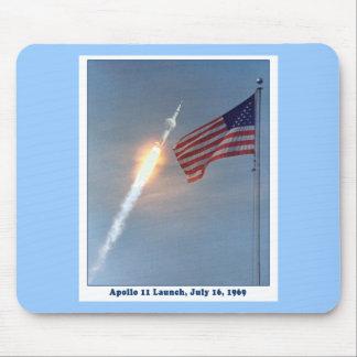 Apolo 11 lanzamiento 16 de julio de 1969 tapete de ratones