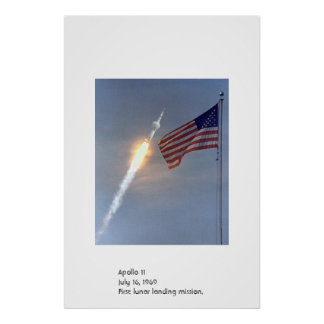 Apolo 11 posters