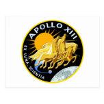 Apolo 13: Supervivencia Tarjeta Postal