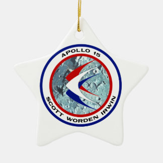 Apolo 15: Visita turística de excursión lunar Ornamento De Navidad