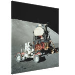 Apolo 17 - El alunizaje servido final Impresión En Lienzo Estirada