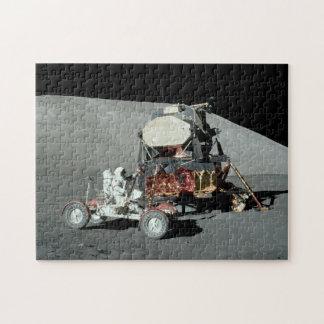 Apolo 17 - El alunizaje servido final Puzzle Con Fotos