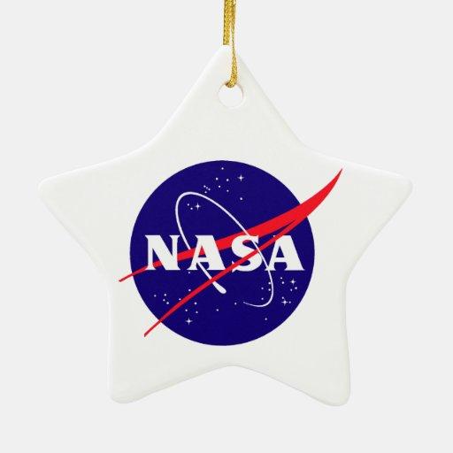 Apolo 17: ¡El final Hurrah! Adorno De Cerámica En Forma De Estrella