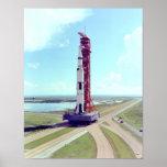 Apolo 17 en el Crawlerway Posters
