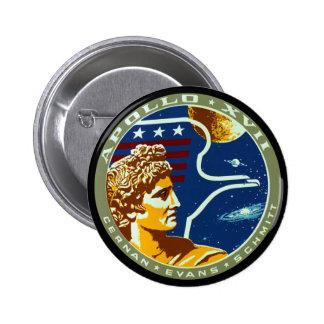 Apolo 17 pins