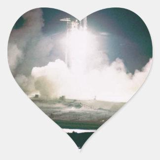 Apolo 17 quita calcomania de corazon personalizadas