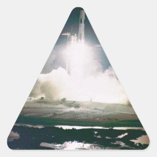 Apolo 17 quita calcomania triangulo personalizadas