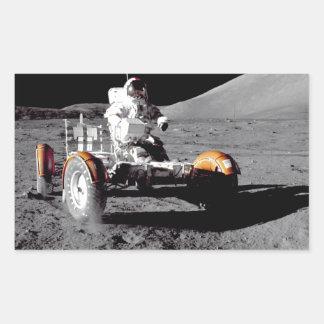 Apolo 17 Rover Rectangular Altavoces