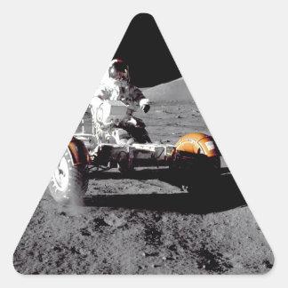 Apolo 17 Rover Pegatina De Triangulo Personalizadas