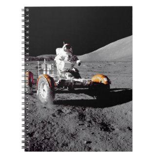 Apolo 17 Rover Spiral Notebooks