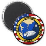 Apolo 1: Grissom, blanco y chaffee. Imanes Para Frigoríficos