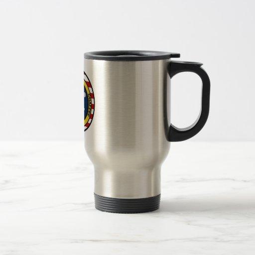 Apolo 1: Grissom, blanco y chaffee. Tazas