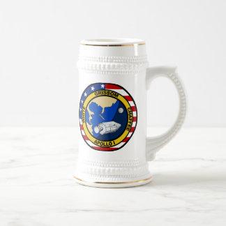 Apolo 1 Grissom blanco y chaffee Tazas De Café
