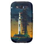 Apolo 4 Saturn V en el cojín un complejo 39 del la Samsung Galaxy S3 Funda