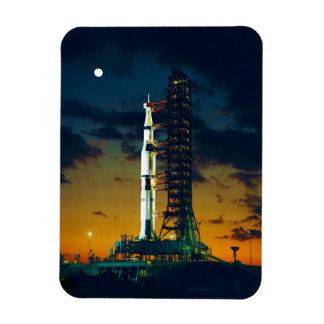 Apolo 4 Saturn V en el cojín un complejo 39 del la Iman