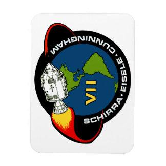 Apolo 7: Schirra, Eisele y Cunningham Imanes