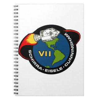 Apolo 7: Schirra, Eisele y Cunningham Libro De Apuntes
