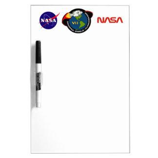 Apolo 7: Schirra, Eisele y Cunningham Pizarras Blancas