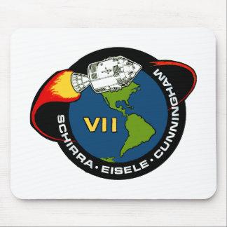 Apolo 7: Schirra, Eisele y Cunningham Alfombrilla De Ratones
