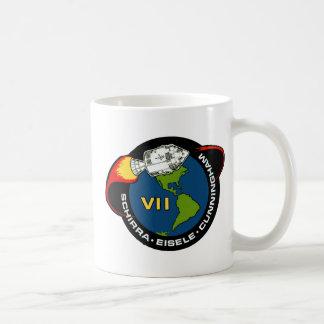 Apolo 7 Schirra Eisele y Cunningham Taza De Café