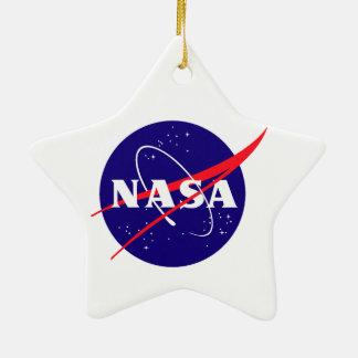 Apolo 8:  ¡Primeros hombres a la luna! Adorno De Cerámica En Forma De Estrella