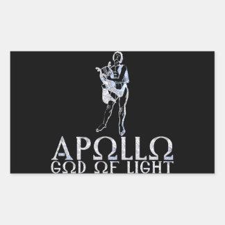 Apolo Rectangular Pegatina